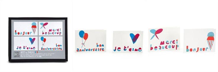 Notes en Français Card Set