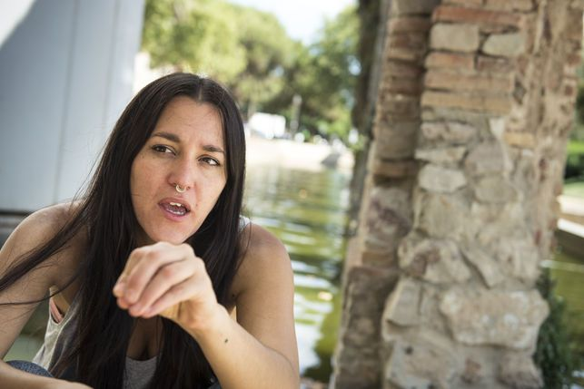 Daniela Ortiz, artista.