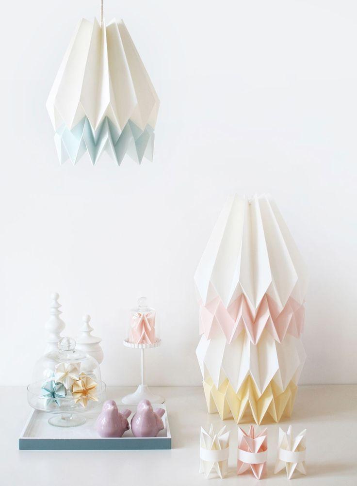 Las 25 mejores ideas sobre l mparas de papel japon s en - Lamparas estilo japones ...