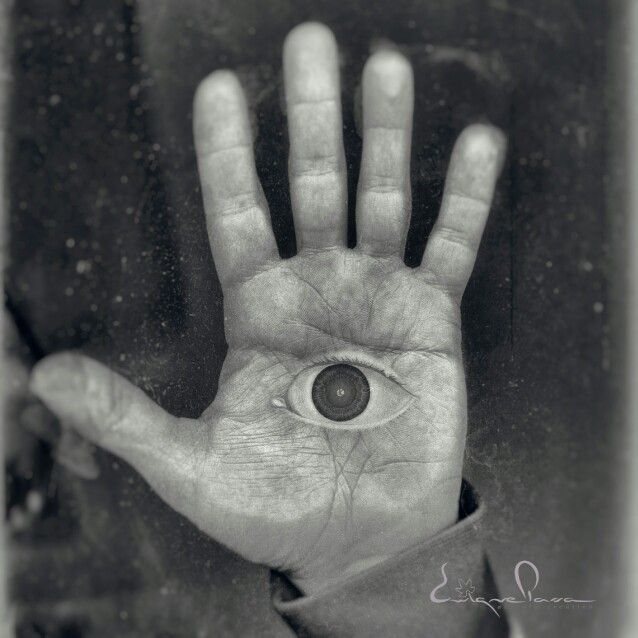 My hand Enrique Parra