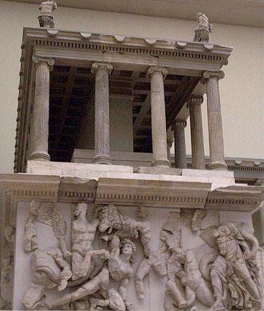 O Altar de Zeus de Pérgamo