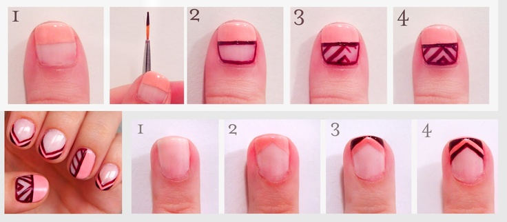 how to create talons #nails #nailart http://prettysquared.blogspot.com/