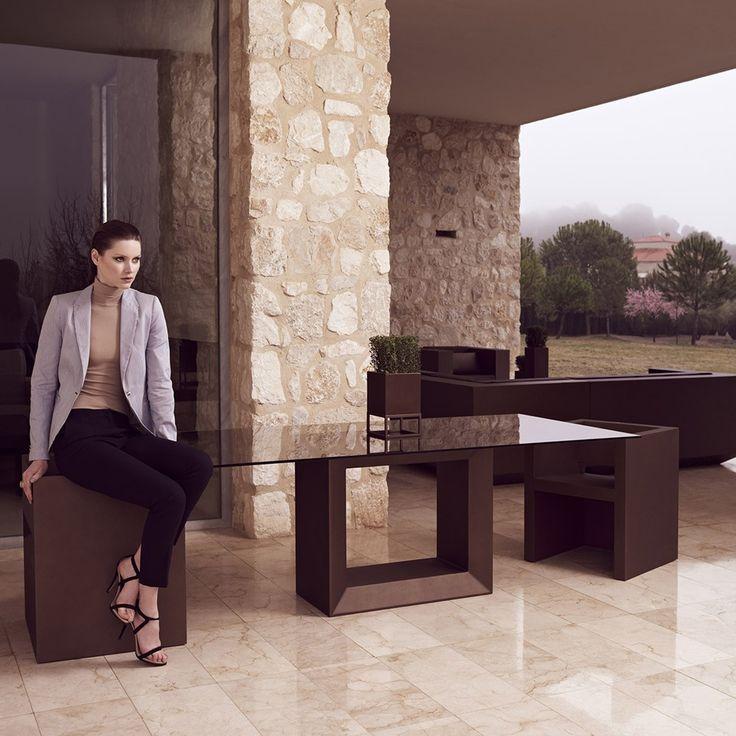 Vondom Vela Dining Table | Houseology