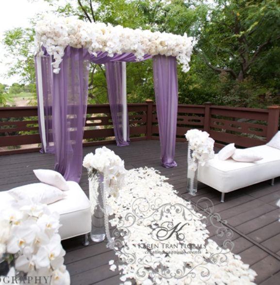 Purple Wedding Arch Decoration Ideas: 249 Best Purple Wedding Theme Images On Pinterest