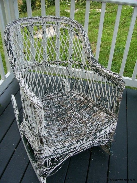 Best 20 Painting Wicker Furniture Ideas On Pinterest