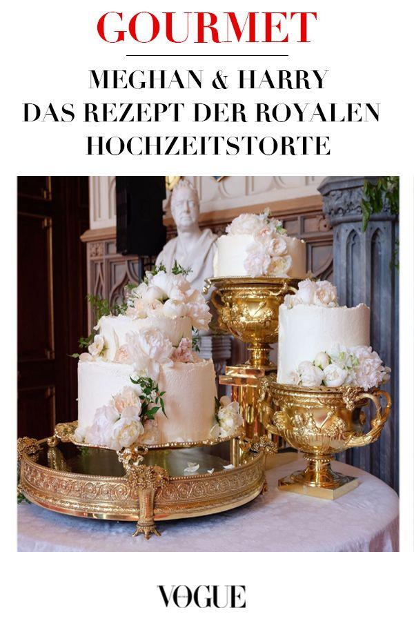 Backen Mit Vogue Royale Hochzeitstorte A La Prinz Harry Und Meghan