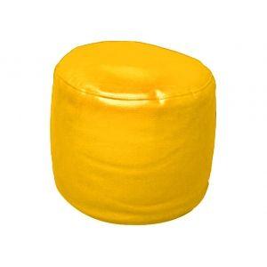 Kids Pouf Bean Bag filled (Yellow)