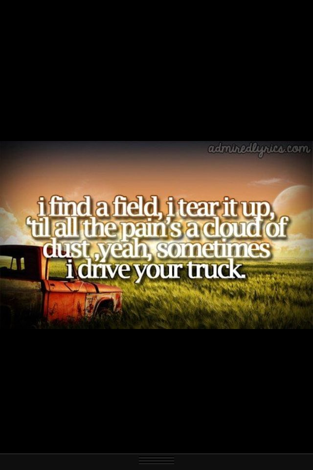 i drive your truck. Why I'll never part with my red chevy. | music ...