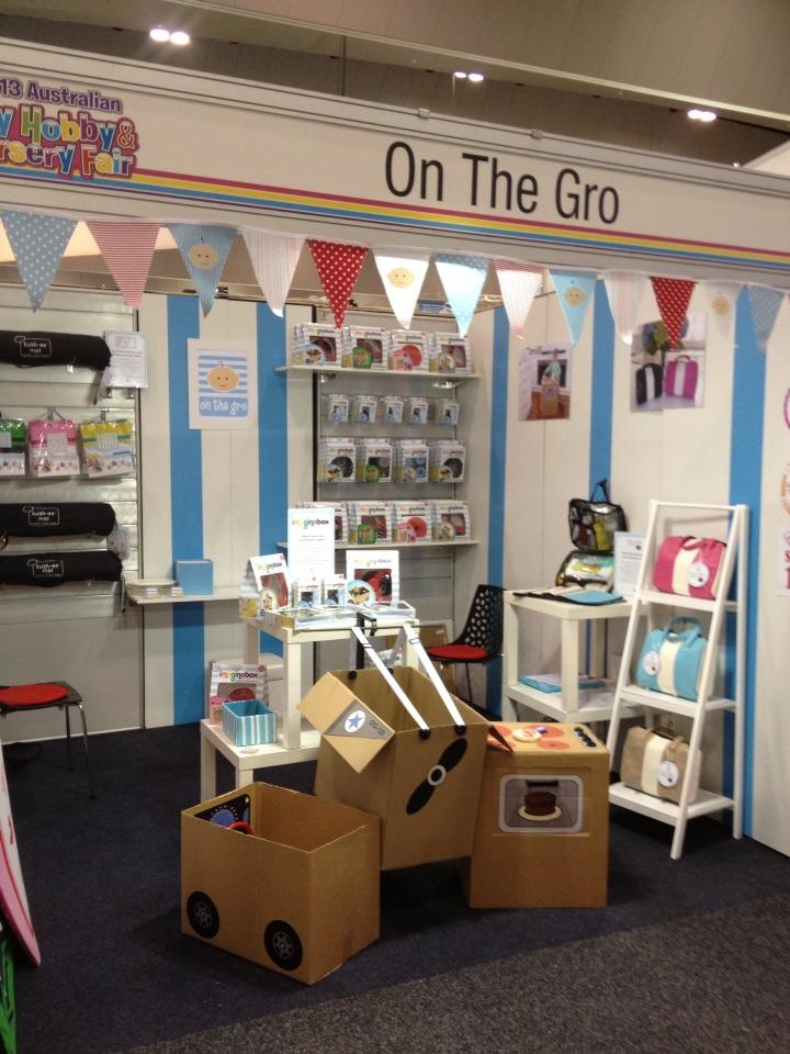 Our stand at the Toy Hobby and Nursery Fair. If you are in Melbourne and a retailer, this is the place to be!  Stand E30.  #toyfair