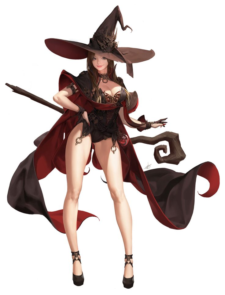 ArtStation - Witch2, Daeho Cha