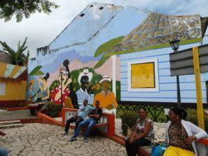 Baracoa mural Cuba.www.anaussieinitaly.com