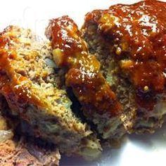 Meatloaf (bolo de carne americano) @ allrecipes.com.br