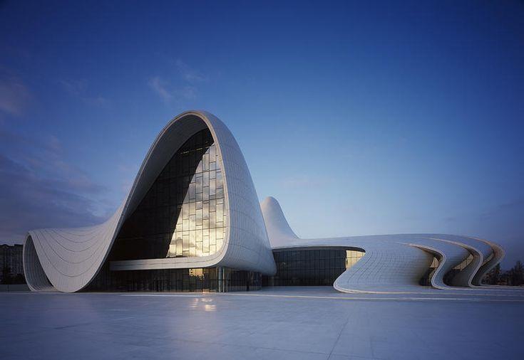 Il Centro Culturale Heydar Aliyev progettato da Zaha Hadid in Azerbaijan