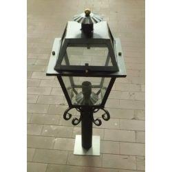 Wrought Iron Lantern. Customize Realisations. 385