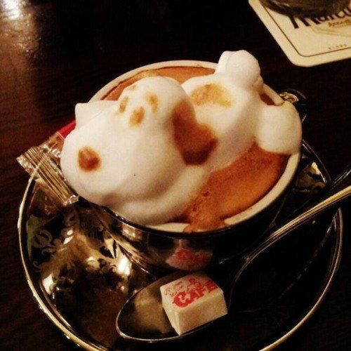 Snoopy  The Incredible 3D Latte Art By Kazuki Yamamoto Will Amaze You All • Page 4 of 6 • BoredBug
