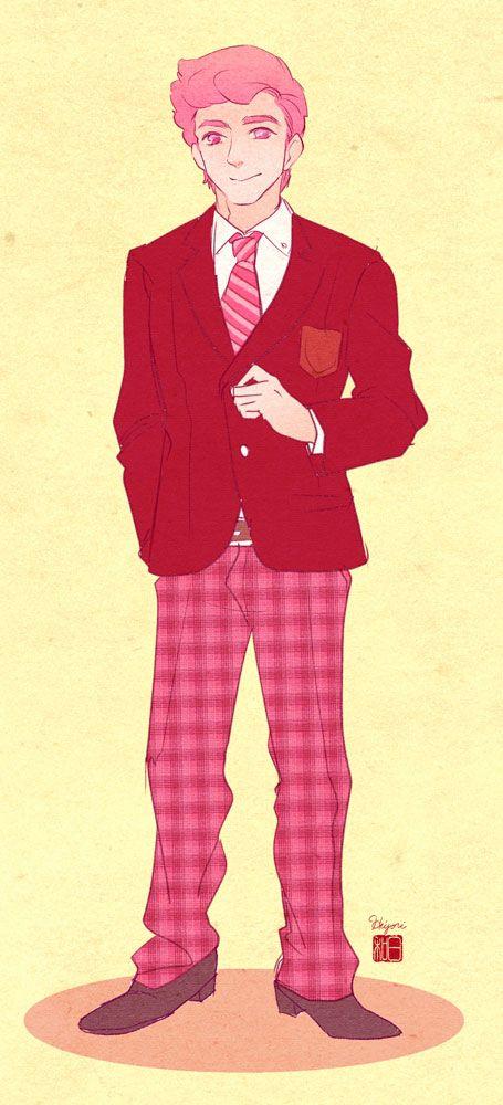 Gumball school uniform
