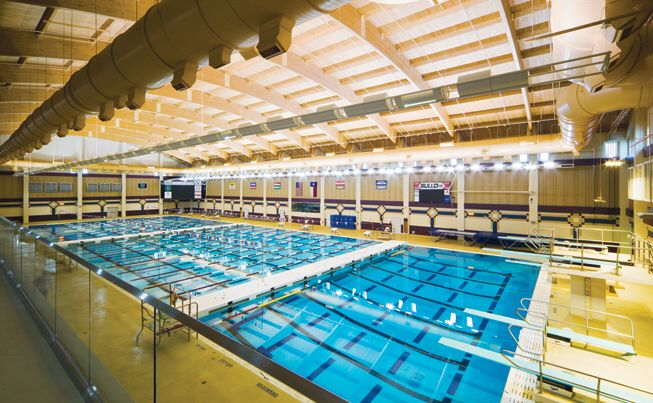 Whether you 39 re a swimmer or into water polo this - Campbell community center swimming pool ...