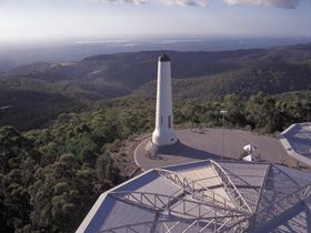 Mount Lofty Summit, Adelaide Hills, South Australia. Try walking this!