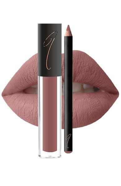 Careless Nude Velvet Cream Lip Stain & Lip Liner – JWOWW COSMETICS
