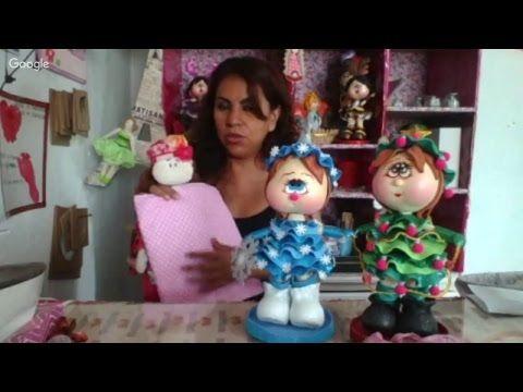 Como hacer una Hada Fofucha en foamy / ADINA CURSO COMPLETO   KLOF - YouTube