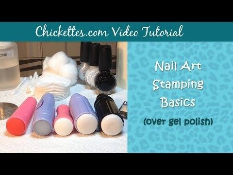 VIDEO:  Nail Art Stamping Basics