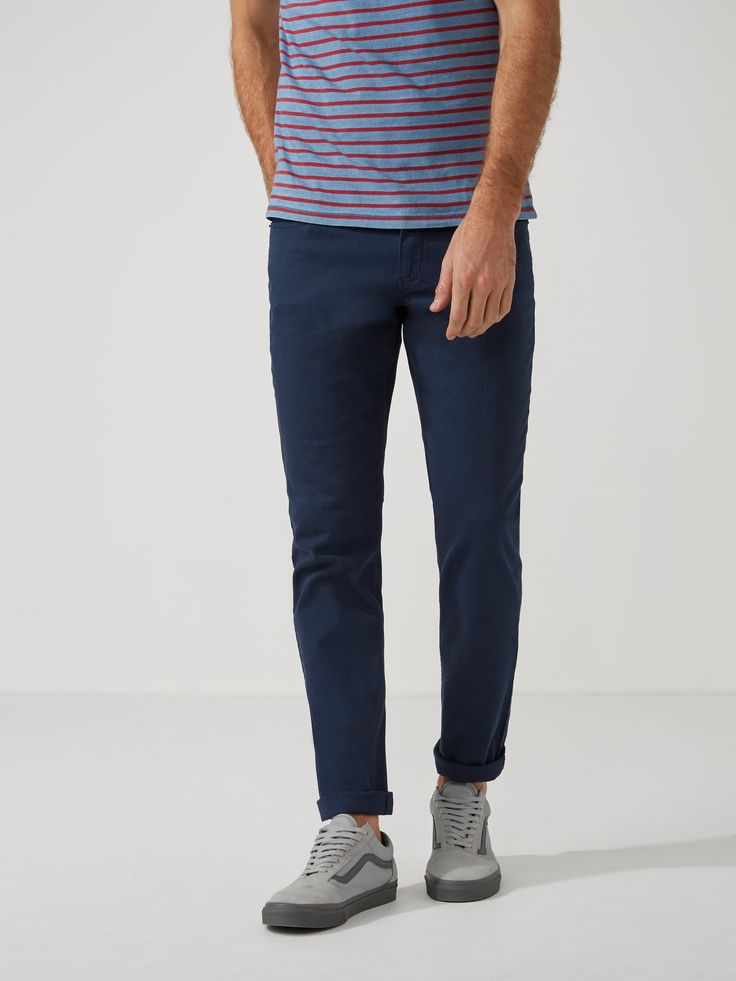The Lincoln Twill Pant in Dress Blue   Frank And Oak