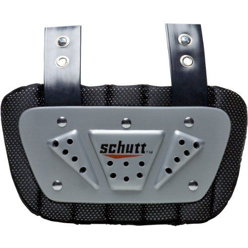 Schutt Youth Back Plate by Schutt. $10.80. The Schutt® youth football back plate fits all models of Schutt® youth shoulder pads and offers added protection for the back.. Save 28%!