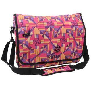 Graphic print Hot Tuna messenger bag #HotTuna #MessengerBags http://www.mrluggage.com/hot-tuna-messenger-bag-ladies-700900?colcode=70090099