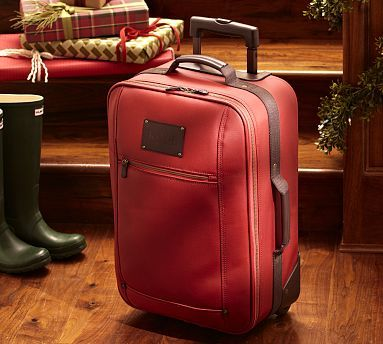 Titian Rolling Suitcase #potterybarn