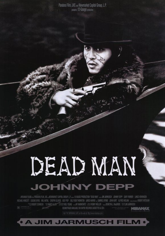 Un lento e inesorabile vagabondare nel nulla. #DeadMan (1995, di #JimJarmusch con #Johnny Depp)