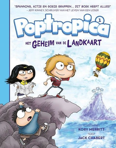 Poptropica, Het geheim van de landkaart. Voor uitgeverij De Fontein jeugd las ik het eerste deel van de nieuwe Poptropicaserie. Poptropica heeft alles:   #game-community #graphic novel #kinderboeken #lezen #poptropica