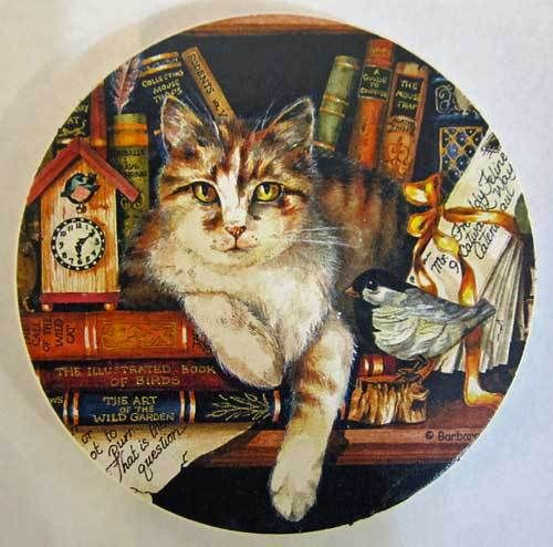 ColorfulCritters - Pretty Cat Coaster for Car 03-00250, $2.99 (http://www.colorfulcritters.com/pretty-cat-coaster-for-car-03-00250/)
