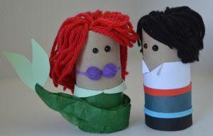 Ariel & Eric #thelittlemermaid #Ariel