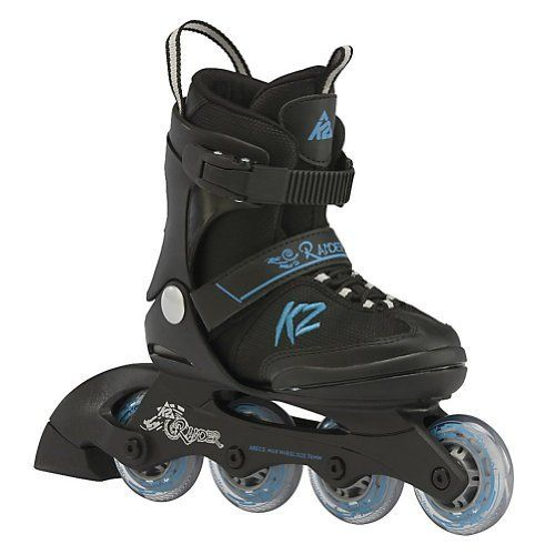 K2 Raider Adjustable Kids Inline Skates by K2. $59.95. The K2 Raider is ready to get your kid outside and enjoy being active. The Raider is for kids who want to get into skating, regardless of ability. The Raider features the F.B.I frame which is a vibration-absorbing composite frame that is interlocked with the base, keeping children more balanced by being lower to the ground. Five full sizes of adjust- ability will keep these skates in use for more then a season wh...