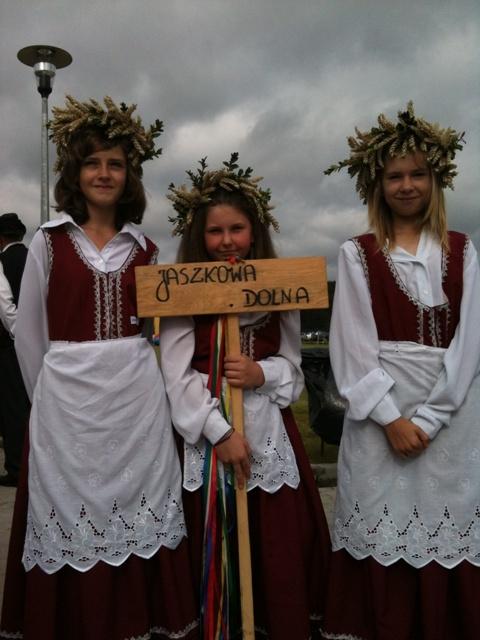 Harvest Festival in Lower Silesia region of Poland.