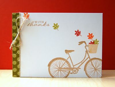 My Paper Secret: Pedal Pusher (PTI bike stamp, May 2013 release)