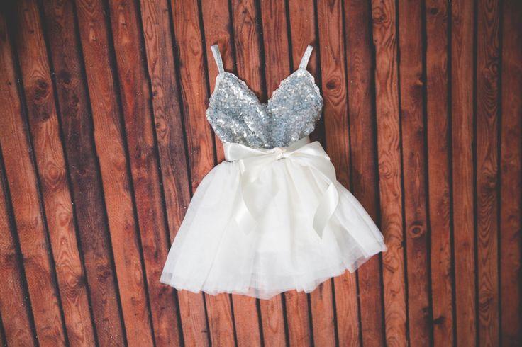 Silver Tulle Flower Girl Dress, Gray sequin dress, White Tulle, Navy Grey Cream Wedding, Sash Belt set, Gold glitter dress, Tutu dress by NicolettesCouture on Etsy https://www.etsy.com/listing/257744229/silver-tulle-flower-girl-dress-gray