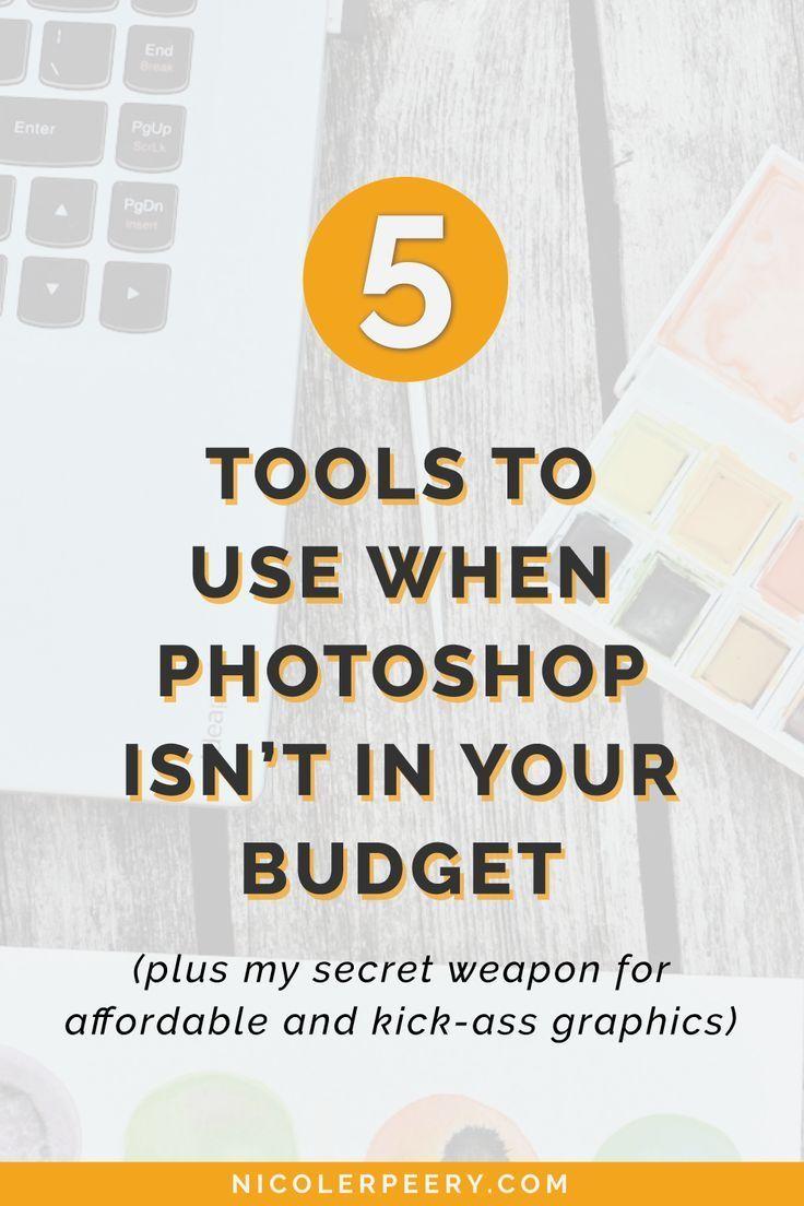 Learn 5 budget-friendly alternatives to Photoshop. Photoshop Alternative | Canva | Create Graphics | Graphics Tutorial via @nicolerpeery