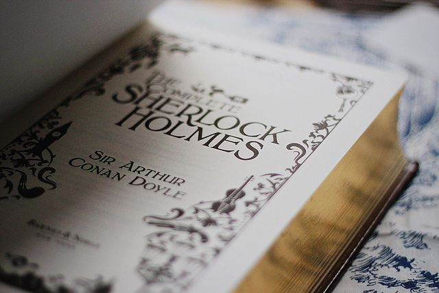The complete Sherlock Holmes | Flickr   In love with this book and tv series