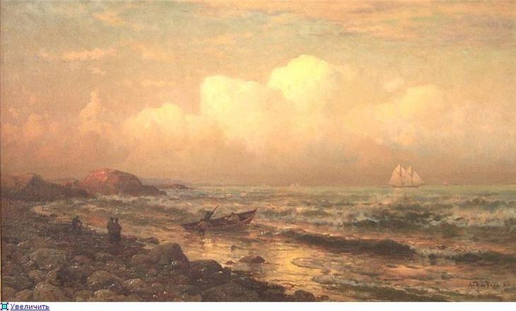 Морские пейзажи голландского мариниста