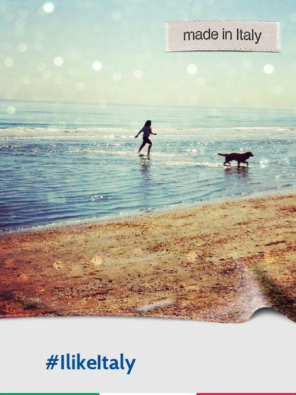 @raffamaffa: corsa in mare #ilikeitaly