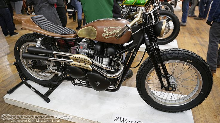 "2013 Triumph Scrambler ""Lahalih-Wood"" Photos - Motorcycle USA"