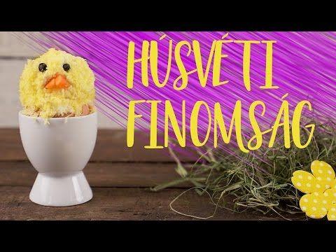(1276) Ilyen egy VEGETÁRIÁNUS csibés sajtgolyó! | EHETŐ CUKISÁG Húsvétra | CSORBA ANITA | Gasztro csatorna - YouTube