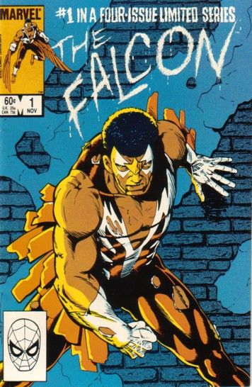 The Falcon no.1 (of four) - Marvel Comics of the 1980s