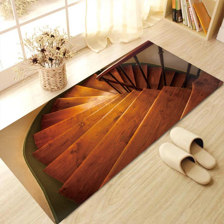 promo personalized creative 3d staircase pattern floor stickers kitchen living room bedroom bathroom #modern #staircase