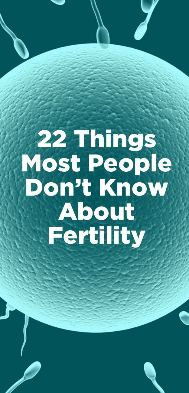 22 Things You Should Know About Fertility