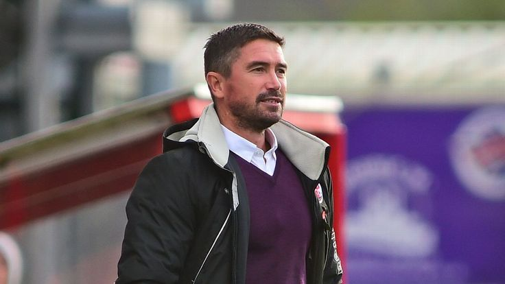 Harry Kewell apologises for altercation with disgruntled Crawley Town fans