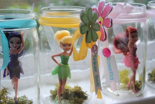 What a fun idea - a fairy birthday party. And this mom did a fabulous job in all of the details for her daughter's birthday. Definitely something you should see!