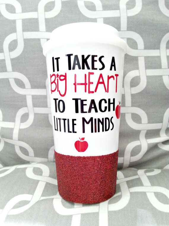 Shape Little Minds Teacher Coffee Mug Custom Teacher Gift Teacher