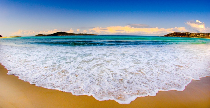 Fingal Bay near Nelson Bay NSW Australia.  Soon enough I'll be here...